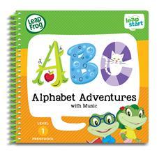 Leap Frog LeapStart Alphabet Adventures Activity Book
