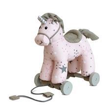 Little Bird Told Me Celeste Unicorn Pull Along