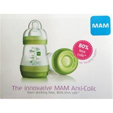 MAM Anti Colic Bottle Leaflet