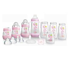 MAM Anti Colic Bottle Starter Set - Pink
