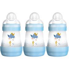 MAM Easy Start Anti-Colic Bottle Blue 160ml 3Pk