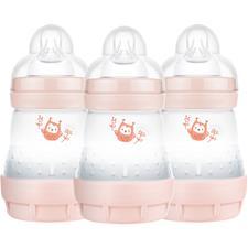 MAM Easy Start Anti-Colic Bottle Pink 160ml 3Pk