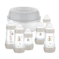 MAM Easy Start Bottle & Microwave Steriliser Set