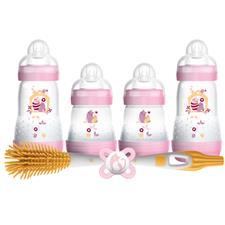 MAM Newborn Feeding Set Pink
