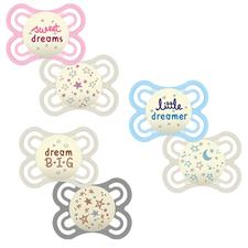 MAM Perfect Night Soother 0m+ 2Pk