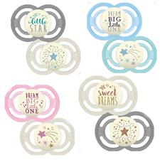 MAM Perfect Night Soother 6m+ 2Pk