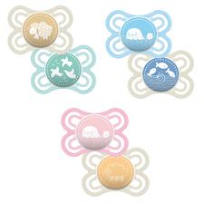 MAM Perfect Soother 0m+ 2Pk