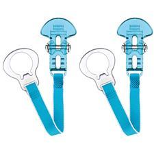 MAM Style Clip Blue 2Pk