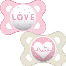 MAM Style Soother Pink 0m+ 2Pk