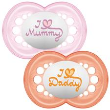 MAM Style Soother Pink 6m+ 2Pk
