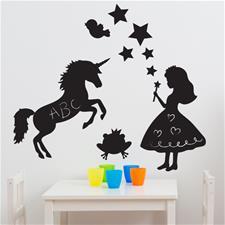 Magic Fairy Kingdom Chalkboard Room Kit