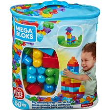 Mega Bloks Big Building Bag 60pcs Bag