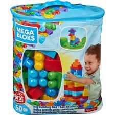 Mega Bloks Big Building Bag 60pcs Bag