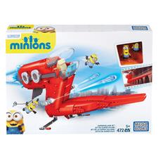 Mega Bloks Despicable Me Supervillain Jet & 2 Figure Playset