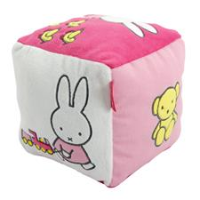 Miffy Activity Cube Pink 15cm