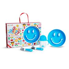 Munchkin By Happy Toddler Dining Set Blue