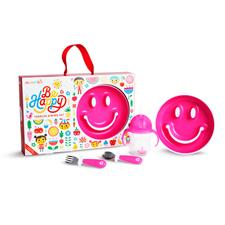 Munchkin By Happy Toddler Dining Set Pink