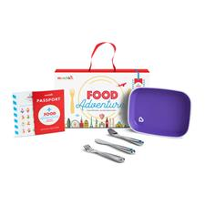 Munchkin Food Adventure Big Kid Dining Set Purple