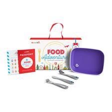 Munchkin Food Adventure Big Kid Dining Set Purple