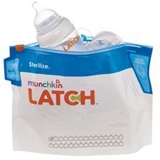 Munchkin Latch Steriliser Bag 6Pk