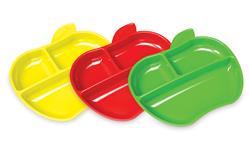Munchkin Lil Apple Plates 3Pk