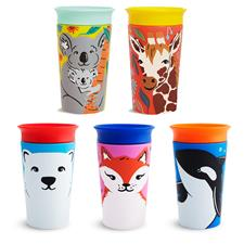 Munchkin Miracle 360 Sippy Cup WildLove Asst 266ml