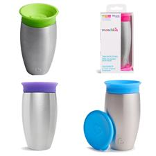 Munchkin Miracle 360 Stainless Steel Sippy Cup 296ml