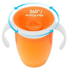 Munchkin Miracle 360 Trainer Cup Orange 207ml