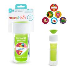 Munchkin My Miracle 360 Insulated Personalised Cup Green