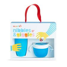 Munchkin Nibbles & Giggles Gift Set Blue