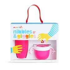 Munchkin Nibbles & Giggles Gift Set Pink