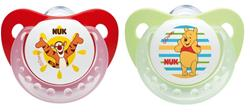 NUK Winnie The Pooh Soothers 6-18m 2Pk