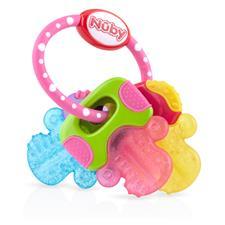 Nuby Icy Bites Keys Teether Pink