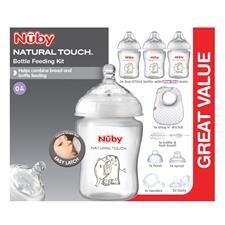 Nuby Natural Touch Newborn Starter Set