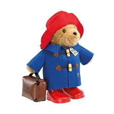Paddington Classic Bear with Boots & Suitcase 34cm