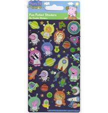 Paper Projects George Pig Foiled Stickers 95mm x 195mm