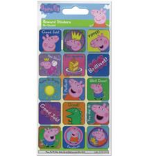 Paper Projects Peppa Pig Reward Stickers 95mm x 195mm