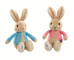Peter & Flopsy Rabbit Rattles