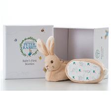 Peter Rabbit First Booties Gift Set