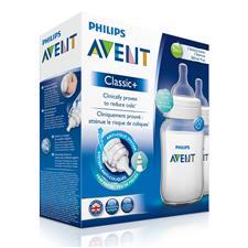 Philips Avent Classic+ Bottle 260ml 2Pk