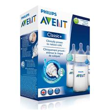 Philips Avent Classic+ Bottle 260ml 3Pk