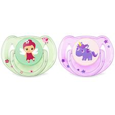 Philips Avent Classic Soothers Theme Pink 6-18m 2Pk