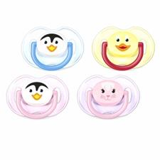Philips Avent Fashion Animals Soothers 0-6m 2Pk