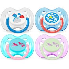 Philips Avent Fashion Soothers 0-6m 2Pk