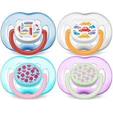 Philips Avent Fashion Soothers 6-18m 2Pk