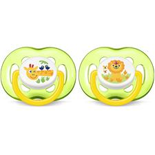 Philips Avent Freeflow Bite Resistant Soothers Unisex 18m+ 2Pk