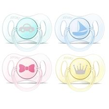 Philips Avent Mini Soother Assortment 0-2m 2Pk