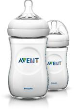 Philips Avent Natural Bottle 260ml 2Pk