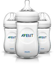 Philips Avent Natural Bottle 260ml 3Pk