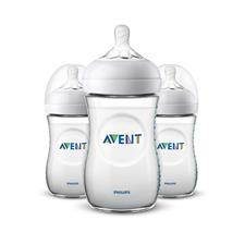 Philips Avent Natural Bottle 260ml 3Pk